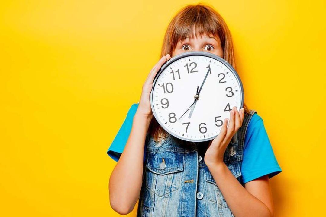 Eine Stunde ist immer gleich lang. Im Alltag aber ist das oft anders.  | Foto: -