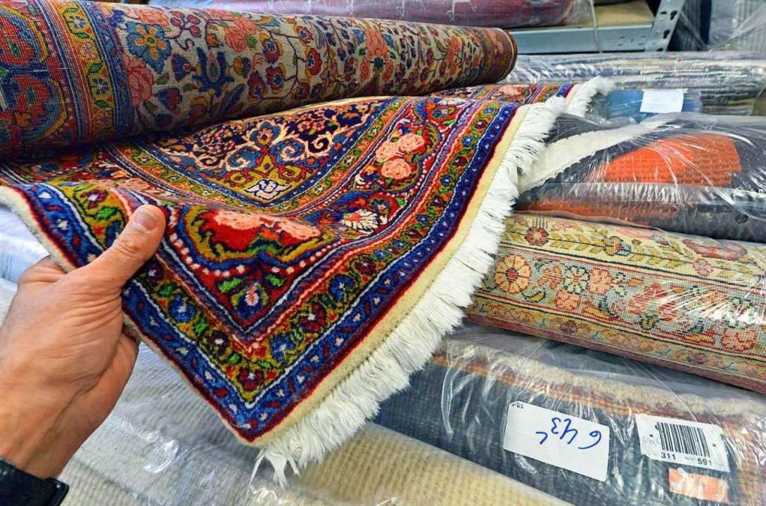 Der angebotene Teppich war fast wertlos. (Symbolbild)  | Foto: Michael Bamberger