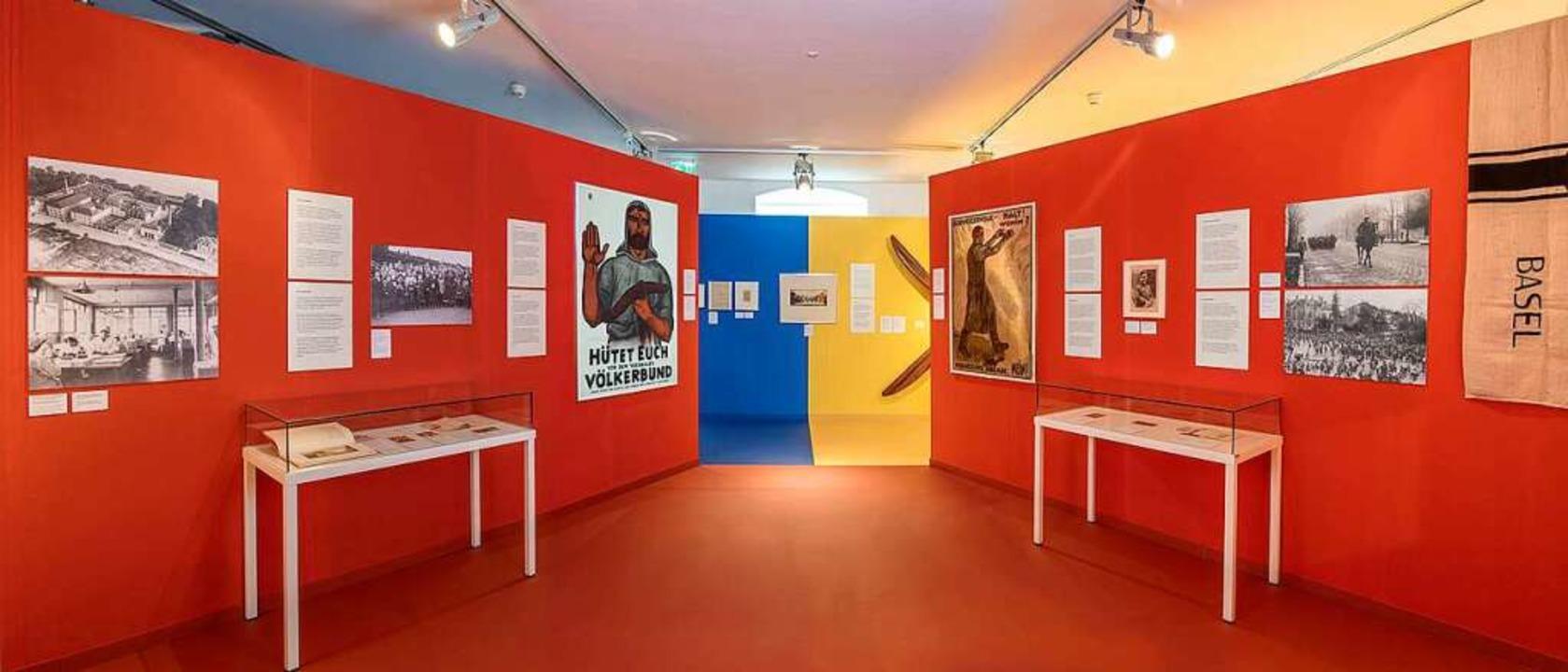 Die Ausstellung Zeitenwende prägte das Museumsjahr 2018.  | Foto: Dreiländermuseum Lörrach