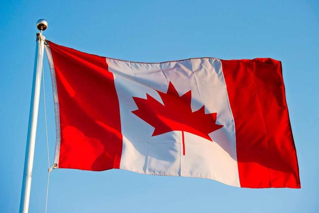 Die kanadische Flagge  | Foto: Patrick Pleul