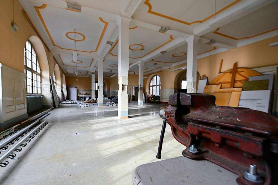 Der Speisesaal im leerstehenden Westflügel des Lycée Turenne.  | Foto: Ingo Schneider