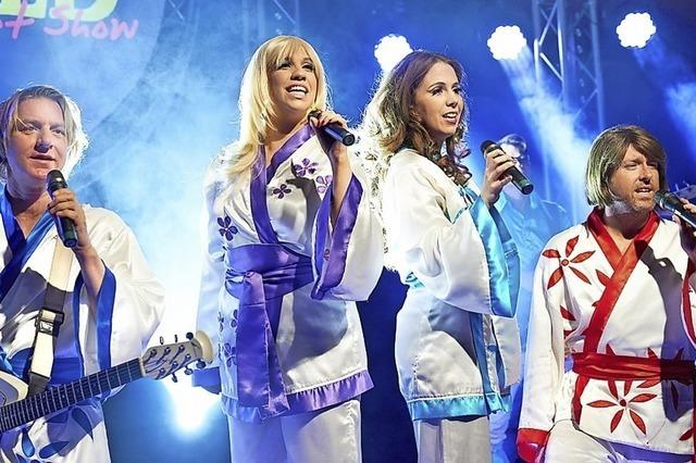 Tribute-Band Abba Gold tritt am 29. Januar um 20 Uhr im Gloria-Theater in Bad Säckingen auf.