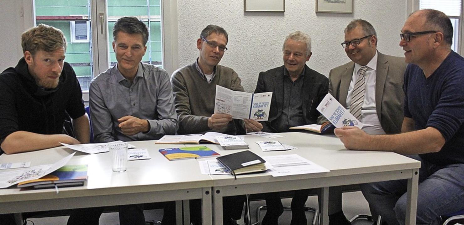 Fit werden für den Klimawandel. Maximi...ann, Alexander Guhl und Georg Freidel.  | Foto: Nina Witwicki
