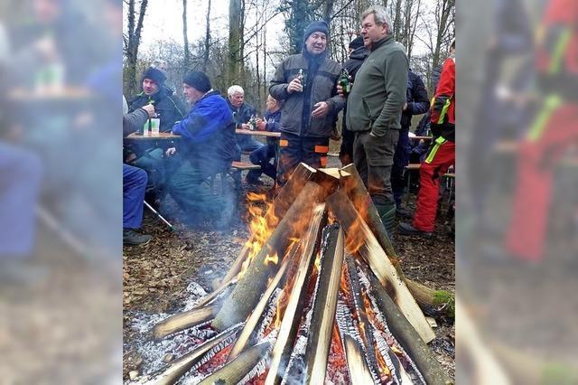 Brennholz ging ruckzuck weg