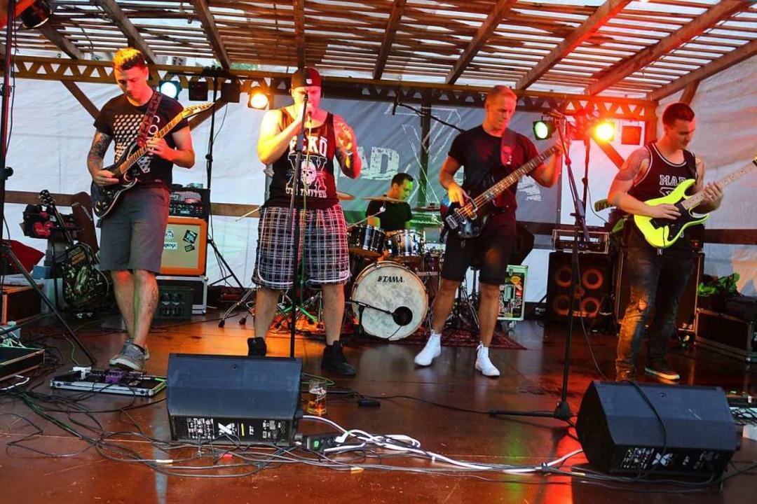 Die Cross-Over-Metal-Band MadEra aus W...ort in Montabaur im Deutschlandfinale.  | Foto: Karin Heiß