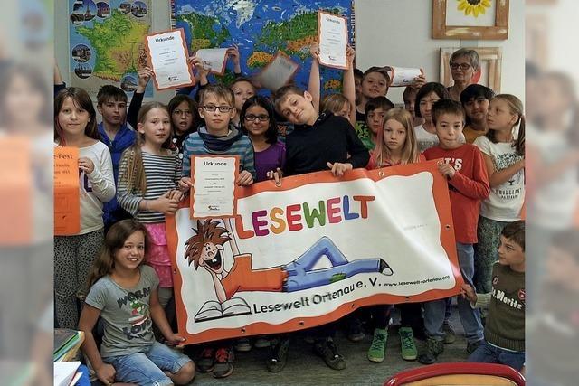 Lesewelt lädt Grundschüler zum Marathon ein