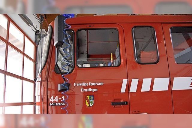 Neues Feuerwehrfahrzeug mit Abbiegeassistent