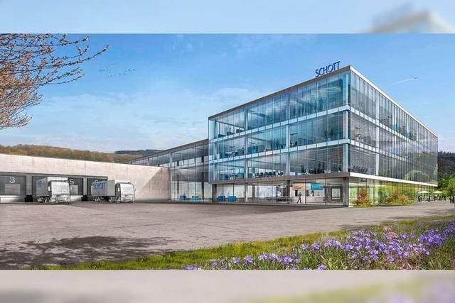 Schott baut in Müllheim ein neues Werk