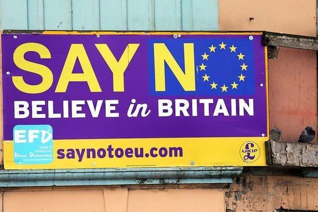 London steckt in der Sackgasse des Nationalismus