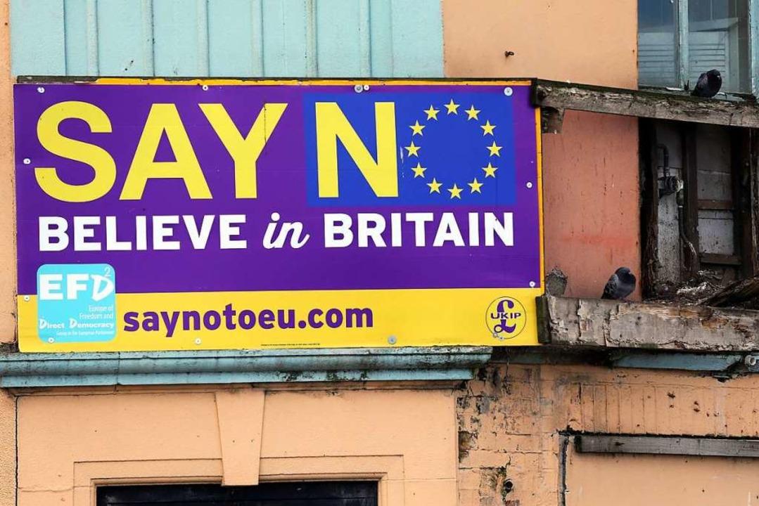 Nein zu sagen ist auch keine Lösung: G...n steckt in der politischen Sackgasse.    Foto: AFP