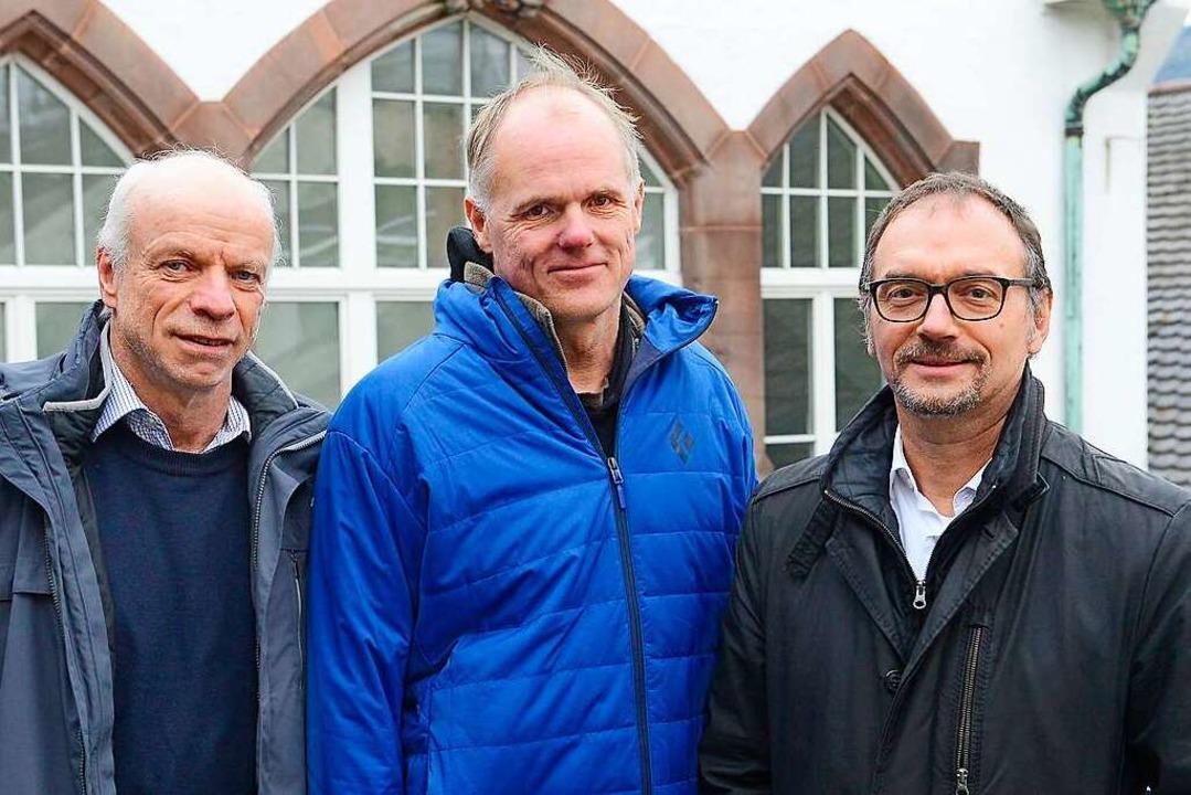 Matthias Seelmann-Eggebert, Jörg Lange...exttief>2</BZ-Texttief>-Abgabe&#8220;.  | Foto: Ingo Schneider