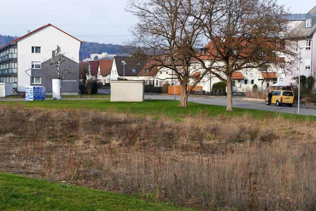 Das Areal hinter dem Campus  bekommt einen Bebauungsplan.  | Foto: Ralf H. Dorweiler