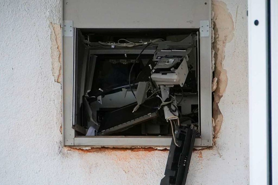 Überfall Geldautomaten Tabac Point Breisach  | Foto: Patrick Kerber
