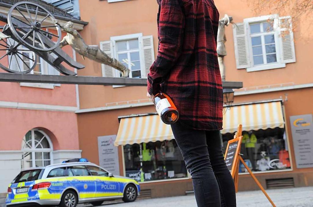 Hochprozentiges ist für Jugendliche in...amt immer noch zu einfach zu bekommen.  | Foto: Nicolai Kapitz