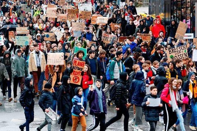 In Offenburg gilt der Schülerstreik als unentschuldigtes Fehlen
