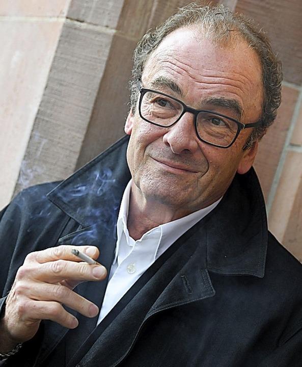 Robert Menasse wurde für seinen jüngsten Roman kritisiert.  | Foto: dpa