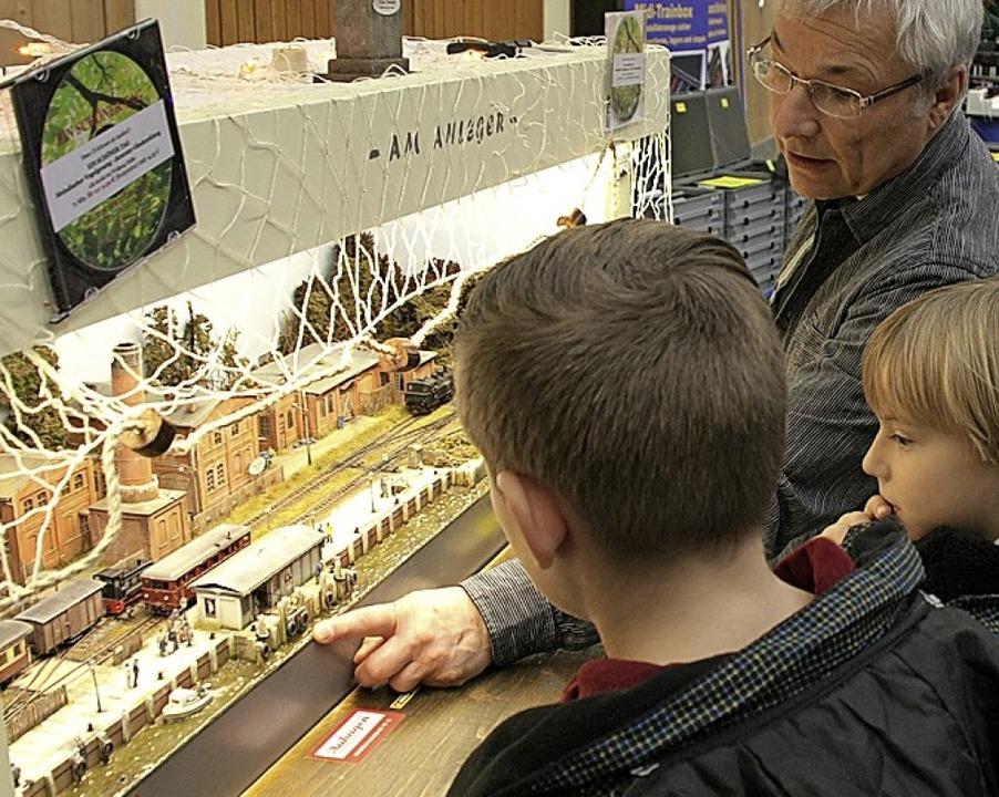 Viel zu entdecken gibt es bei der Modellbahnausstellung der Eisenbahnfreunde.   | Foto: Archivfoto: Wendel