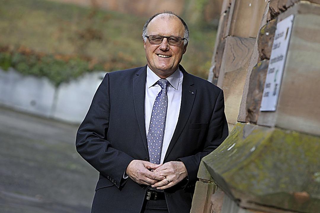 Rektor Herbert Huber    Foto: Christoph Breithaupt