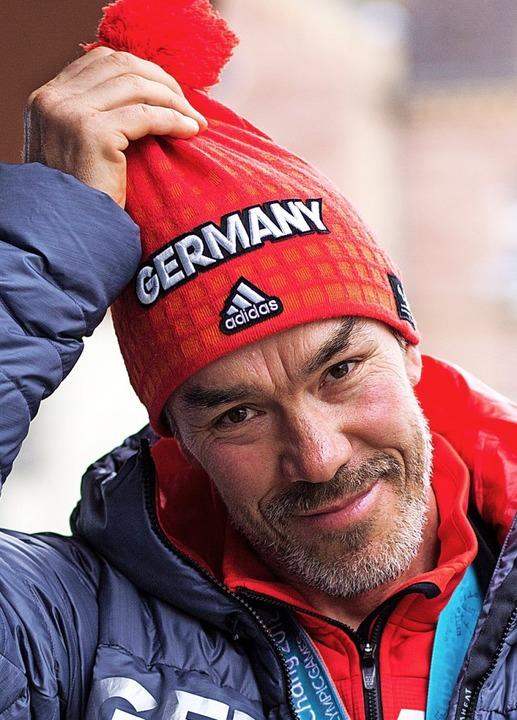 Als einziger Skisportler aus Südbaden auf dem Treppchen: Alexander Ehler   | Foto: Patrik Müller