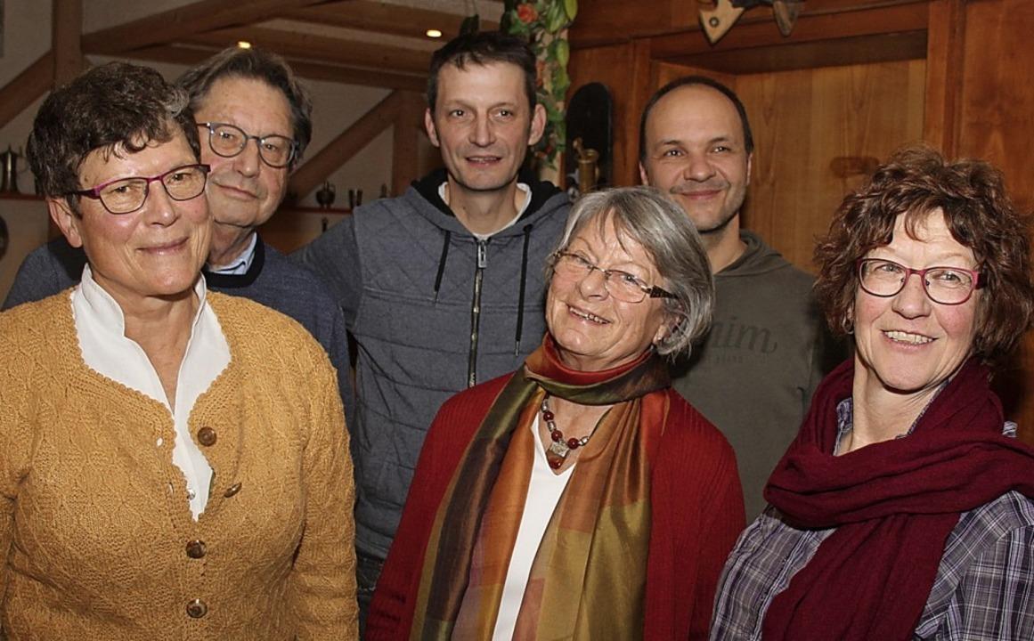 Das  Vorstandsteam des Förderkreises K...sler und Claudia Wehinger-Schöpperle.     Foto: Brichta/Privat