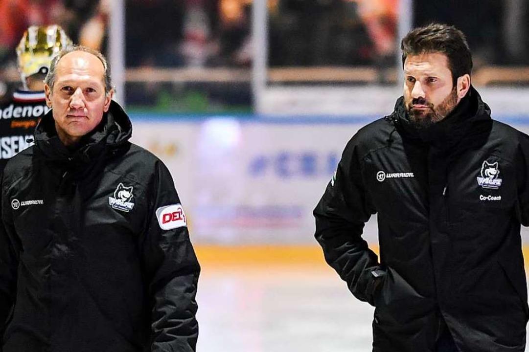 Das neue Duo für die sportliche Leitun...wil Khaidarow (links) und Jan Melichar  | Foto: Patrick Seeger