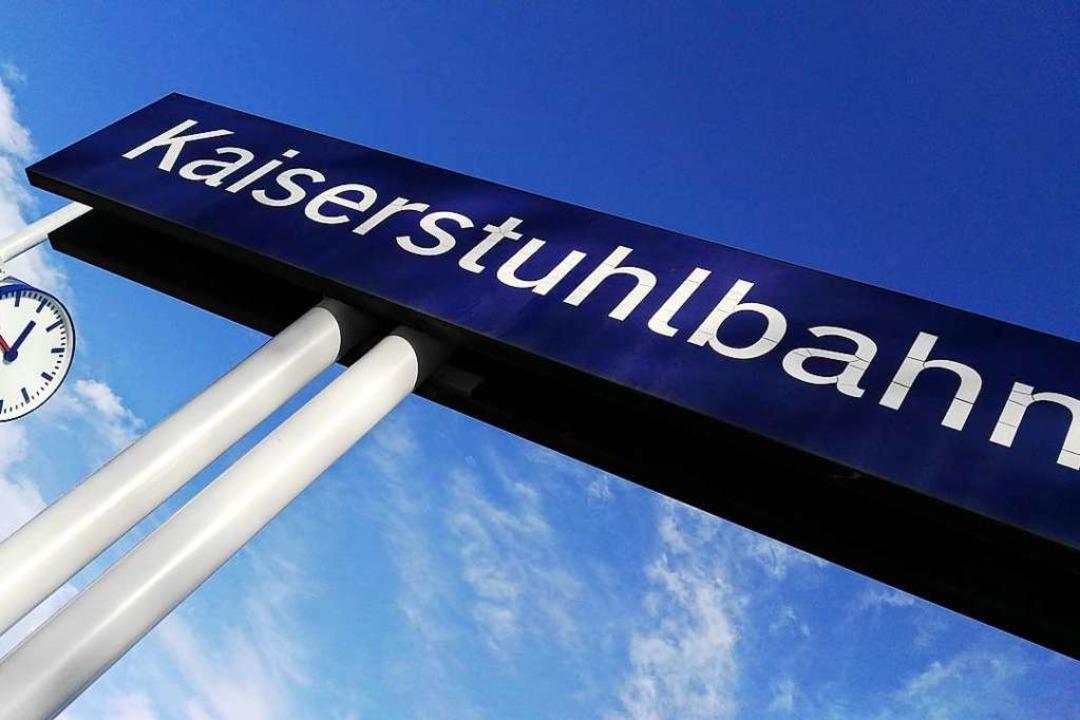 Neue Zeiten bei der Kaiserstuhlbahn? D...am Kaiserstuhl – wieder einmal.     Foto: Martin Wendel