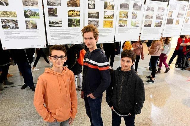 Schüler erarbeiten den Freiburger Osten im Wandel der Zeit