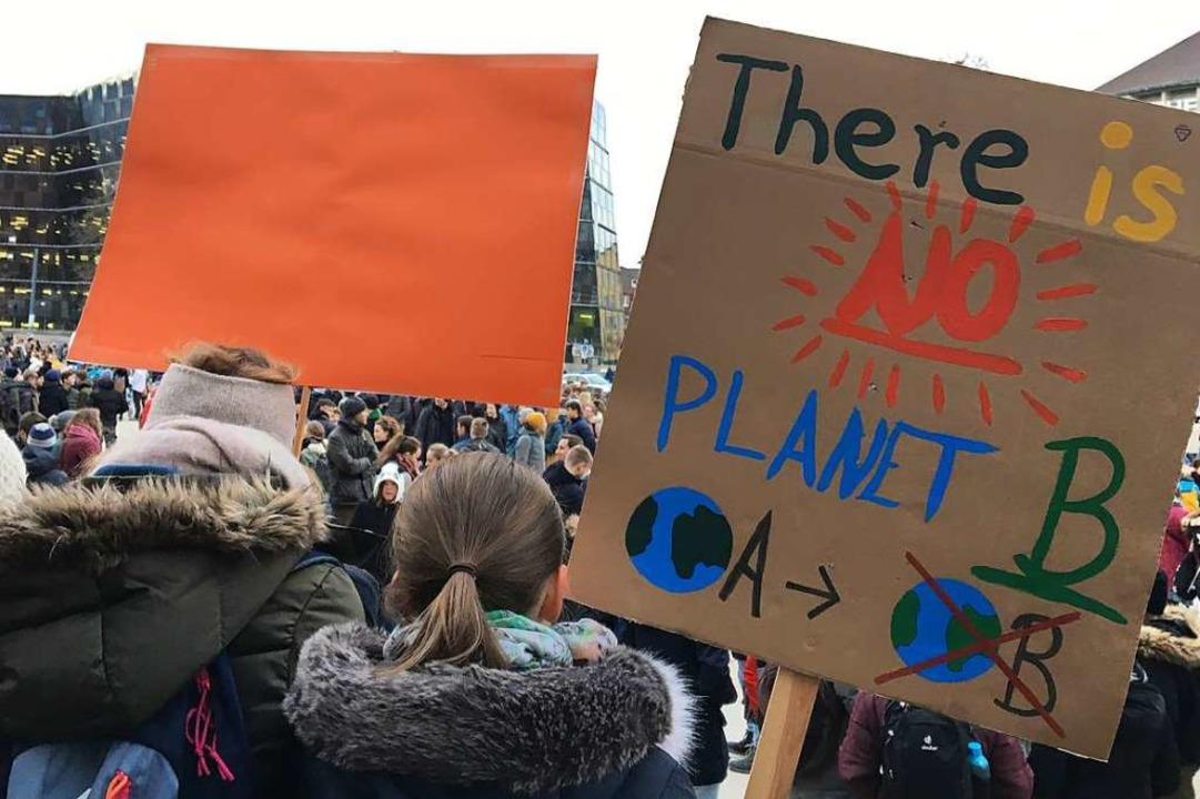 Es gibt keinen Planet B  | Foto: Simone Höhl