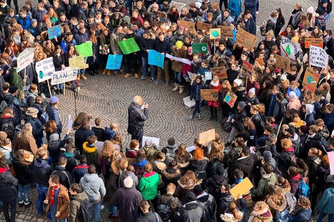 Da eigentlich nur Oberstufenschüler da...nburg ein Erfolg für die Veranstalter.  | Foto: Helmut Seller