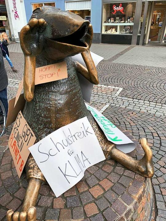 Auch der Offenburger Werres-Vogel streikt.  | Foto: Helmut Seller