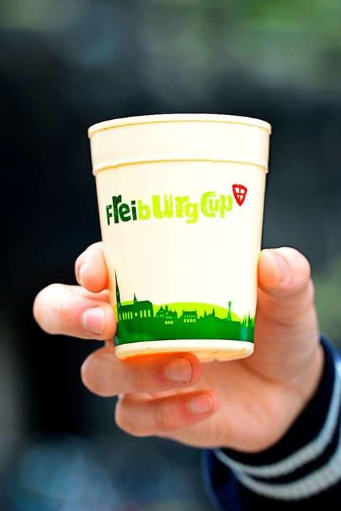 Die erste Cup-Generation ist grün.  | Foto: Ingo Schneider