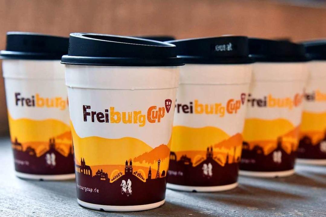 Die Neuen: Freiburgs Cups mit neuem Druck.  | Foto: Michael Bamberger