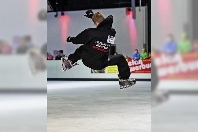 Offemnburg erlebt den Ice Freestyle Contest
