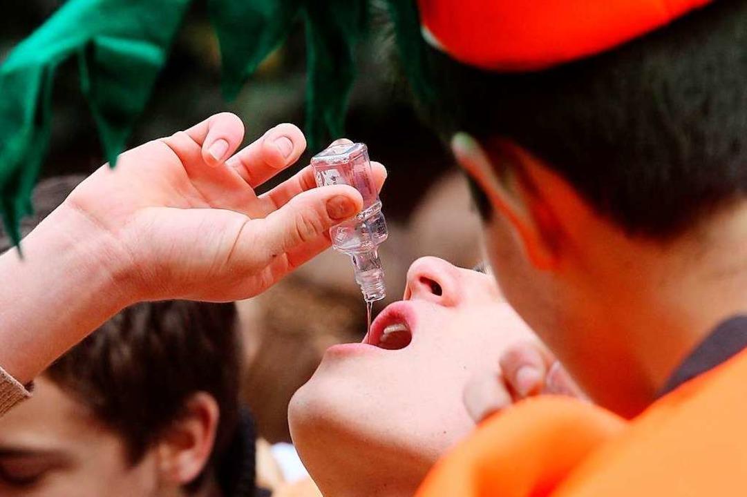 Eines der Probleme: alkoholisierte Jugendliche.  | Foto: Roland Weihrauch