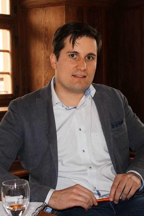 Martin Rupp, seit 2014 Bürgermeister v...is Breisach für den Kreistag antreten.  | Foto: Mario Schöneberg