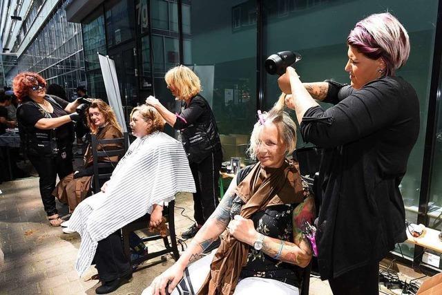 Mehr als 25.000 Gratis-Haarschnitte für Bedürftige