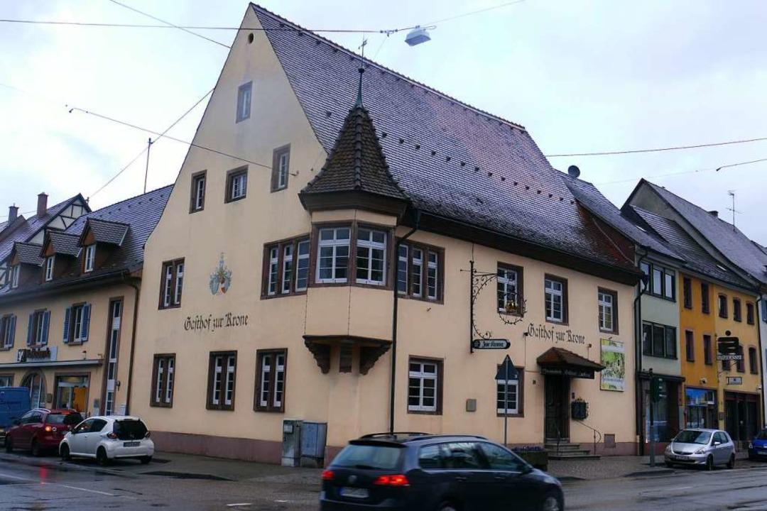 Das Gasthaus Krone in der Kenzinger Stadtmitte   | Foto:  Lena Marie Jörger