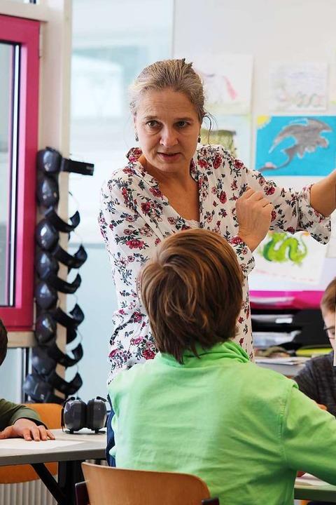 Lehrerin Uta Baron  | Foto: Susanne Gilg