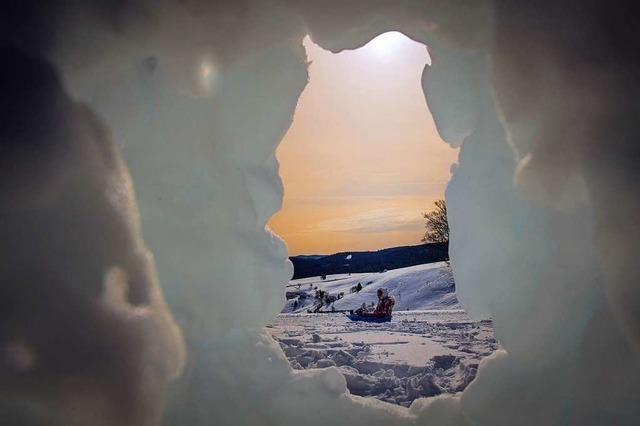 Schneeschuhwanderung des Ski-Club Maulburg auf dem Schauinsland