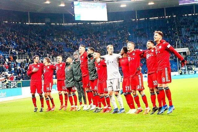 Auch nach dem Sieg in Hoffenheim gibt es viele Baustellen bei Bayern München
