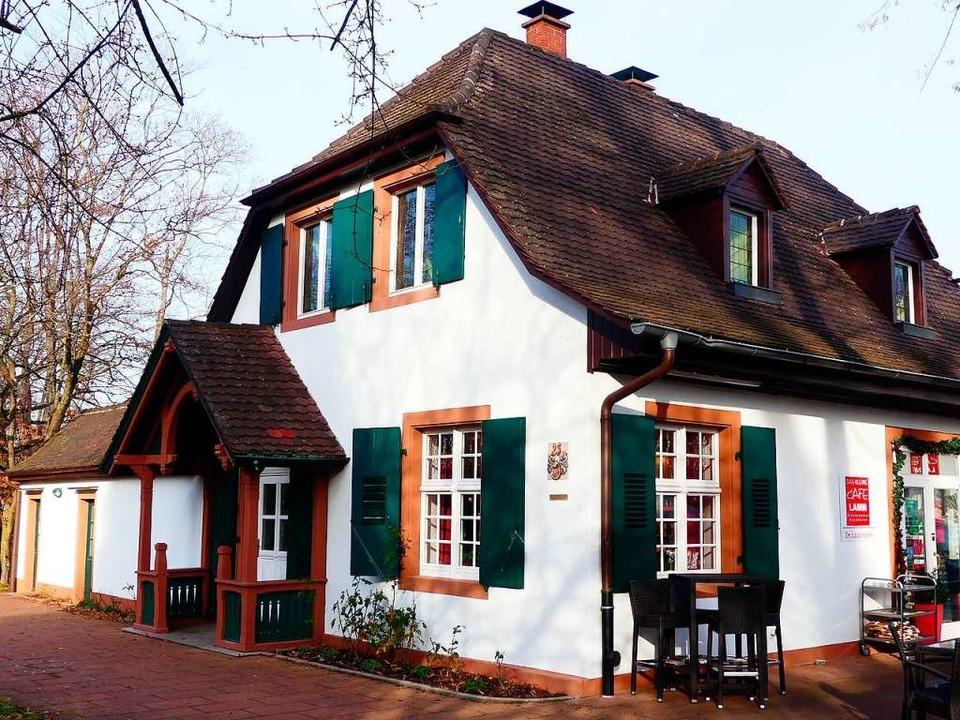 Das kleine Café Lamm in Weil am Rhein ...n Gartenhaus aus dem 17. Jahrhundert.   | Foto:  gef