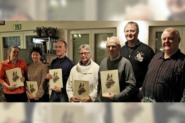 Schäferhundeverein ehrt Mitglieder