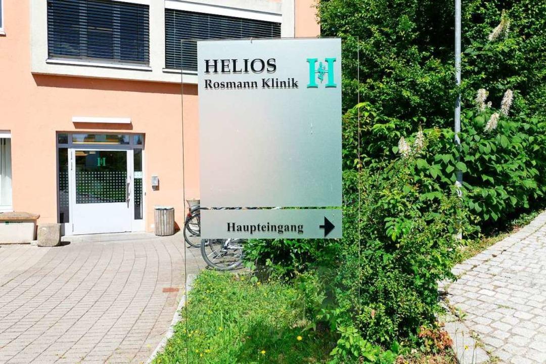 Die Zukunft der Helios-Klinik in Breis...warzwald wieder wirtschaftlich werden.  | Foto: Saskia Rohleder
