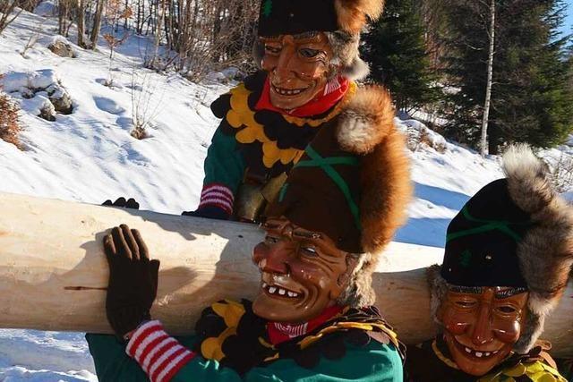 Fotos: Geißentäler Narrenzunft feiert 55 plus 1