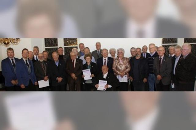 Die Stadtmusik Wehr hat 55 neue Ehrenmitglieder