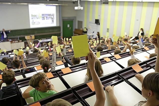 Nächste Kinder-Uni an der Hochschule