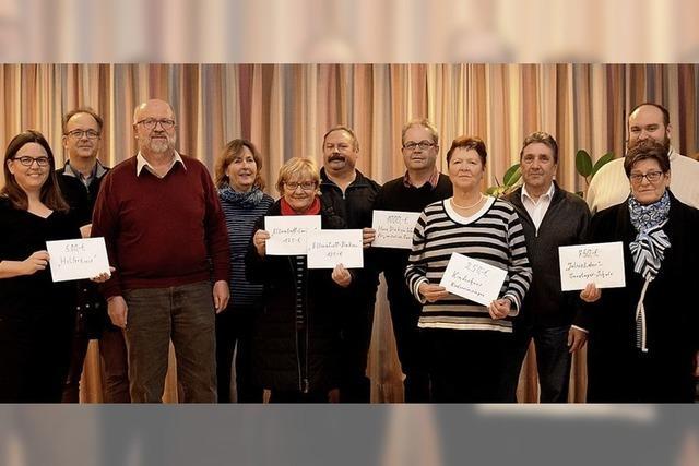 Rund 2900 Euro für soziale Projekte in Breisach