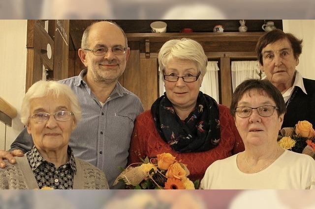 Zusammen singen sie seit 180 Jahren im Kirchenchor