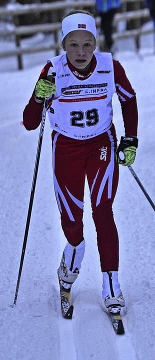 Leonie Maier von der WSG Feldberg lief am Sonntag auf Rang vier.