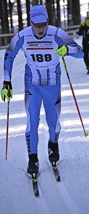 Marius Zähringer, Zweiter über zwei Kilometer der U 15.   | Foto: junkel